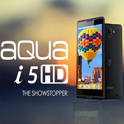 Intex Aqua i5HD arrives in India for Rs 9,990 , aqua i5hd,  aqua i5hd india india price,  intex aqua i5hd,  intex aqua i5hd india launch,  intex aqua i5hd launch,  intex aqua i5hd price