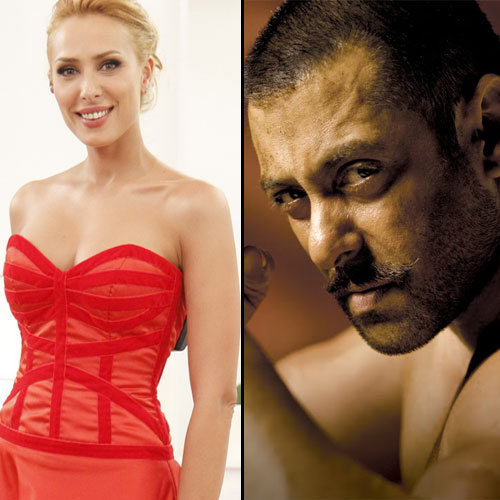Iulia Vantur spotted on the sets of Sultan, bollywood actor salman khan,  iulia vantur spotted on the sets of sultan,  iulia vantur spotted on the sets of salman khan sultan,  bollywood news,  bollywood gossip,  bollywood news and gossip