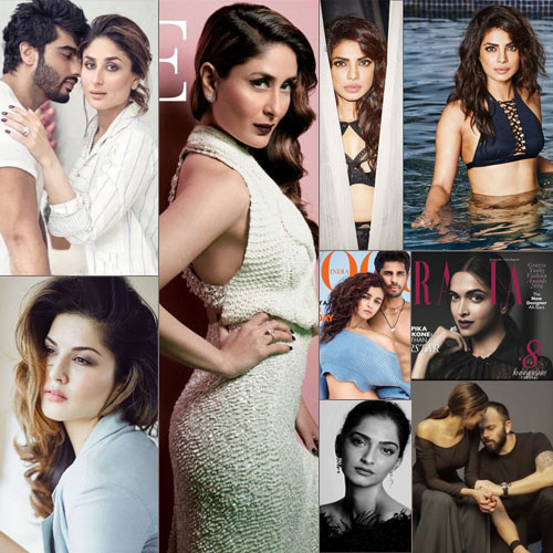 Rocking photoshoots of Kareena, other celebs, kareena and other celebs who rocked photo-shoot in march,  hottest photoshoot of march 2016,  amy jackson,  deepika padukone look smoking hot on grazia magazine,  kareena-arjun kapoor looks damn hot on filmfares magazine,  parineeti chopra ,   smoking hot priyanka chopra sizzles on esquire magazine,  sonam kapoor,  sunny leone,  varun dhawan,  alia in bikiuni & sidharth topless for vogue,  jacqueline fernandez,  ifairer