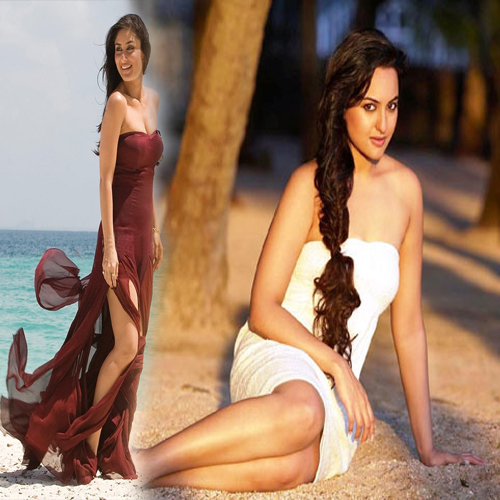 Kareena overpowered by Sonakshi sinha.., kareena kapoor hot,  kareena kapoor khan,  sonakshi sinha,  sonakshi sinha hot,  latest pics of kareena kapoor khan,  latest pics of sonakshi sinha,  2014,  fight between bollywood stars,  bollywood,  celebs,  gossips,  bollywood mantra,  bollywood world