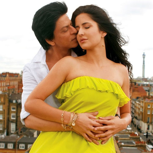 Kat again shares screen space with SRK!