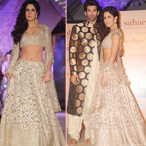 Katrina Kaif-Aditya Roy Kapoor's traditional look, bollywood actresses katrina kaif,  katrina kaif-aditya roy kapoor traditional look,  katrina kaif-aditya roy kapoor or manish malhotra,  fashion trends,  katrina kaif traditional look,  ifairer