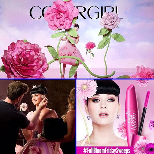Katy turns cute for mascara covergirl, katy turns cute for mascara covergirl,  katy perry,  hollywood news,  hollywood gossips,  latest news,  ifairer
