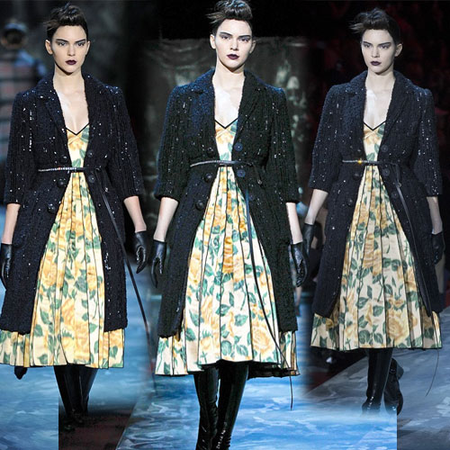 Kendell Jenner in floral dress at NYFW, kendell jenner,  hollywood news,  hollywood gossips,  latest news,  ifairer