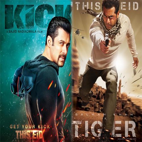 Kick Fails To Break Ek Tha Tiger's Opening Record, bollywood,  bollywood masala,  bollywood gossip,  kick,  ek tha tiger,  salman khan,  kick opening,  kick box office opening,  kick opening