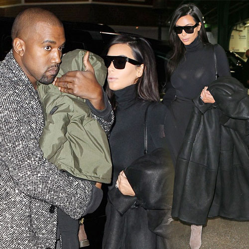 Kim and family in stylish outfits, kim and family in stylish outfit,  hollywood news,  hollywood gossips,  latest news,  kim kardashian,  kanye west,  north west,  ifairer