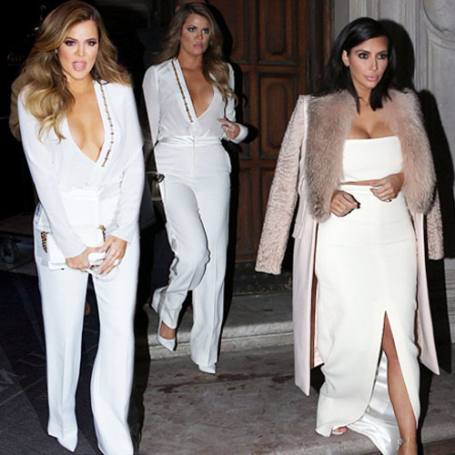 Kim and Khloe in sexy busty outfits, kim and khloe in sexy busty outfits,  kim kardashian,  khloe kardashian,  hollywood news,  hollywood gossips,  latest news,  ifairer