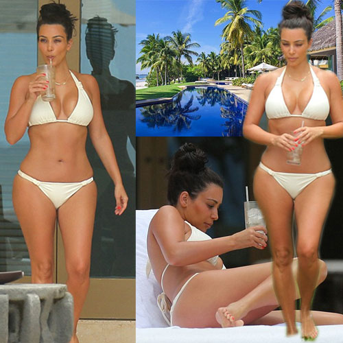 Kim enjoying her second Honeymoon , kim enjoying her second honeymoon,  kim kardashian,  kanye west,  hollywood news,  hollywood gossips,  latest news,  wedding of kim kardarsian,  how kim manage her figure