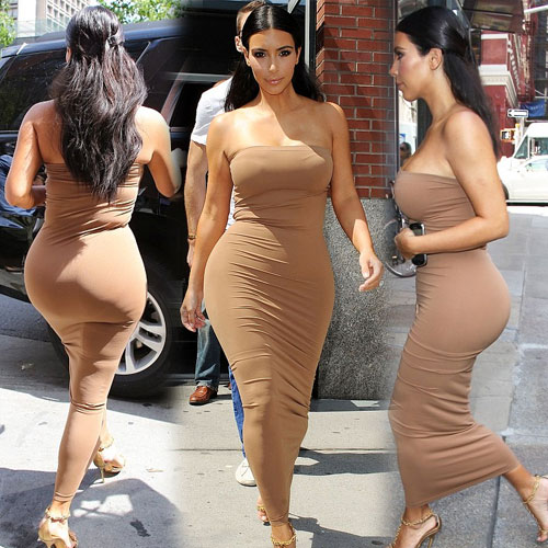 Kim in skin-tight dress, kim in skin-tight nude dress,  hollywood news,  hollywood gossips,  latest news,  kim kardashian,  latest news about kim kardashian,  kim kardashian in hot and stylish skin fitting dress,  kim kardashian in khloe birthday,  hot and sizzling kim kardashian