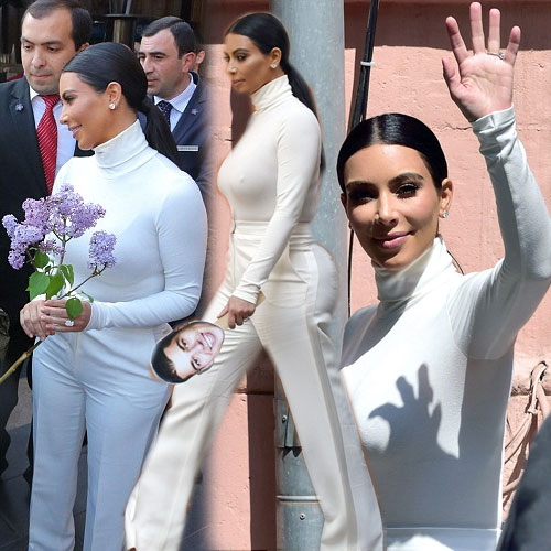 Kim looks elegant in all white outfit, kim kardashian,  hollywood news,  hollywood gossips,  latest news,  ifairer