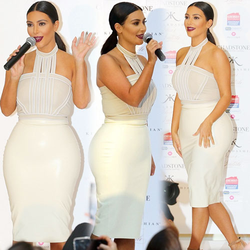 Kim stuns in another latex skirt, kim stuns in another latex skirt,  kim kardashian,  hollywood news,  hollywood gossips,  latest news,  ifairer