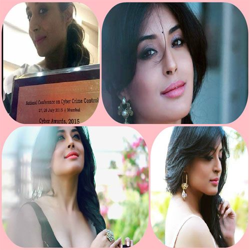 Kritika Kamra is the Cyber Celebrity of the Year