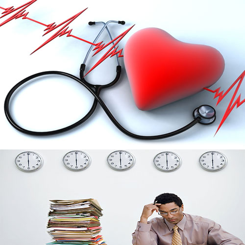 Long hour working may raise risk of heart attack