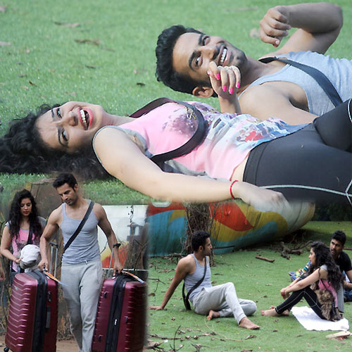 Love Chemistry Between Upen and Sukirti  , budding love between upen and sukirti,  bigg boss 8 episode 1 sparks flying between upen patel and sukirti kandpal already,  bigg boss 8 budding love between upen patel sukirti kandpal,  bigg boss 8,  bigg boss 8 latest news,  upen patel,  upen patel and sukirti kandpal love chemistry in bigg boss house,  tv gossip,  tv buzz,  tv masala,  latest tv shows updates,  ifairer