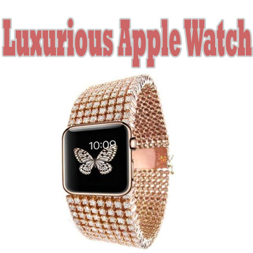 Luxurious Apple Watch Band
