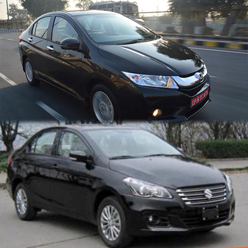 Maruti Ciaz To Compete Honda City!, maruti ciaz,  honda city,  maruti ciaz price,  maruti ciaz diesel,  maruti suzuki,  suzuki,  launch of maruti ciaz,  features of maruti ciaz,  specifications,  automobile news,  ifairer