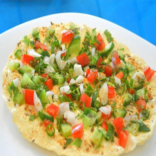 Masala papad recipe, masala papad recipe,  masala papad,  how to make masala papad,  recipe for masala papad,  recipe,  tea time recipes,  ifairer