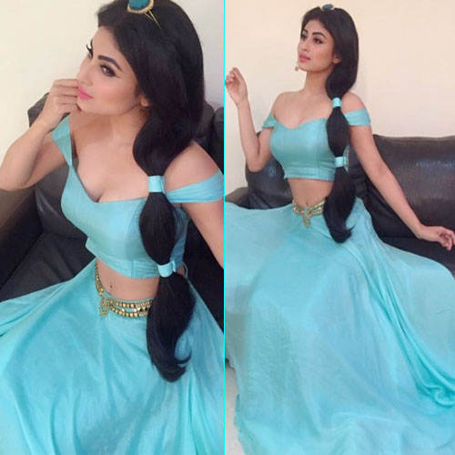 Mouni Roy brings Disney's Jasmine to small screen, television actress mouni roy,  mouni roy brings disneys jasmine to small screen,  mouni roy becomes jasmine,  tv gossips,  indian tv serial celebs news,  telly buzz,  telly updates,  ifairer