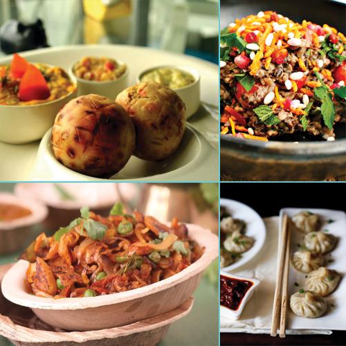 Mouthwatering Street Foods from 29 Indian States, mouthwatering street foods from 29 indian states,  jhalmuri,  aloo tikki chaat,  momos,  chole bhature,  kinalas,  kappa,  keema pao,  parippu vadu,  barra,  banana buns,  dabeli,  dahi samosa,  laksa,  litti chokha,  cuisines,  ifairer
