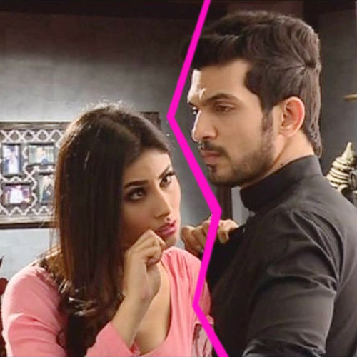 Naagin's Ritik-Shivanya fights ugly off screen, television actresse mouni roy,  television actor arjun bijlani,  naagins ritik-shivanya fights ugly off screen,  naagin gossips -mouni roy and arjun bijlani got into argument on the sets,  all is not well between mouni roy and arjun bijlani off screen,  mouni-arjun bijlani ugly fight and ego clashes on sets,  tv gossips,  indian tv celebs news,  ifairer