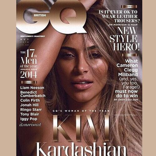 Naked Shoot of Kim for Britain's GQ, naked shoot of kim for britains gq,  hollywood news,  hollywood gossips,  latest news,  kim karadashian,  ifairer,  britains gq magazine,  kris jenner