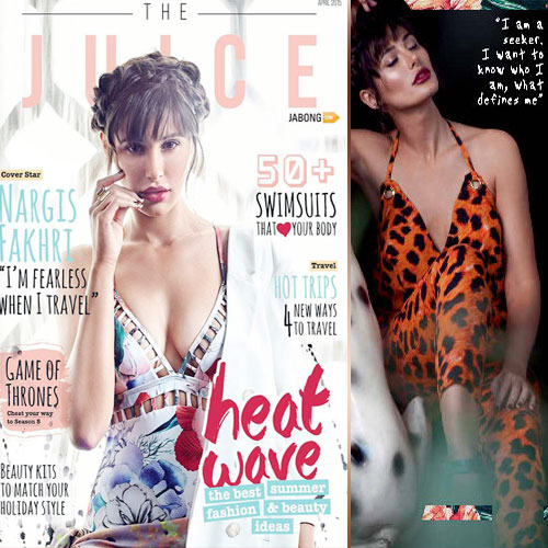 Nargis Fakhri's Stunning Photoshoot
