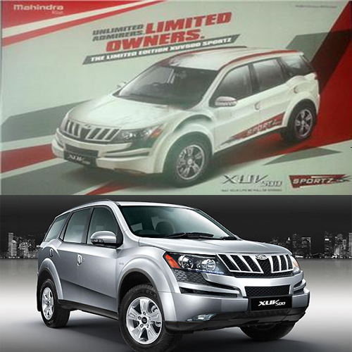 New Mahindra XUV500 Sportz limited edition coming soon  