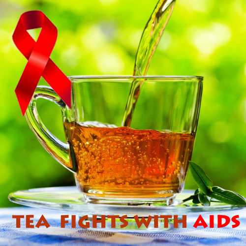 NOW sip a cup of tea and FIGHT with AIDS!!, tea, aids, health tips