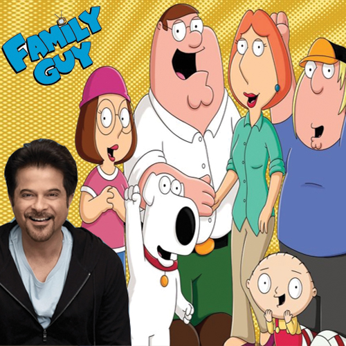 OMG! Anil Kapoor all set to star in Family Guy, anil kapoor all set to star in family guy,  anil in family guy,  anil kapoor to make guest appearance in family guy,  anil kapoor in international anime debut,  entertainment,  hollywood,  ifairer