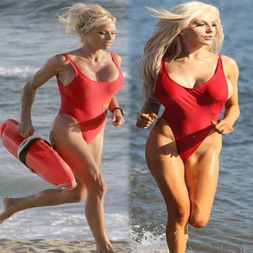 Pamela In Sexy Red Swimsuit!, pamela,  pamela anderson,  sexy pamela anderson,  hot pamela anderson,  pamela anderson in bikini,  pamela anderson in red swimsuit,  nude pamela anderson,  hot photos of pamela anderson,  photoshoot of pamela,  pamela anderson on beach run,  hollywood,  latest hollywood news,  hollywood news,  hollywood celeb pamela anderson,  ifairer