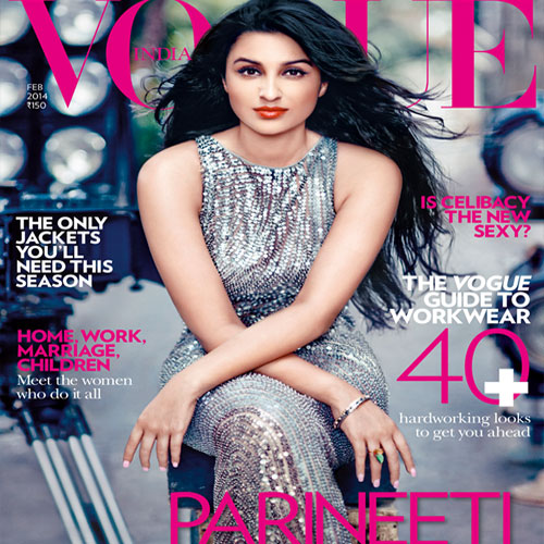 'Parineti' became the cover page of 'Vogue' India, parineeti chopra,  vogue,  cover page,  yash raj films,  hasee toh phasee,  bollywood gossips,  entertainment news,  bollywood news,  latest bollywood news
