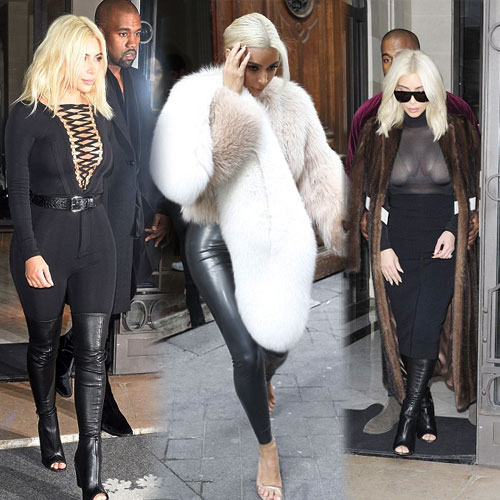 Paris Fashion Week Wardrobe Of Kim, kim kardashian,  fashion,  fashion tips,  fashion trends 2013,  fashion accessories,  fashion trends 2014,  fashion trends 2015,  latest news,  ifairer