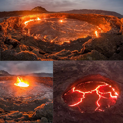 Photographer releases 15 aesthetically horrifying images of lava lake, photographer releases 15 aesthetically horrifying images of lava lake,  daring photographer captures rare images of lava lake that's been flowing for over 100 years,  amazing photographs,  amazing photographs of lava lake,  general articles