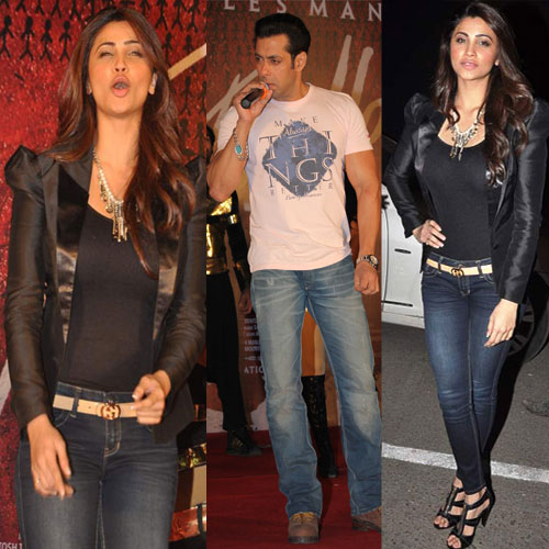 Pics: Salman and Daisy Promoting 'Jai Ho', salman khan,  daisy shah,  photocopy,  jai ho,  inorbit mall,  salman khan and daisy shah promoting jai ho at inorbit mall,  bollywood
