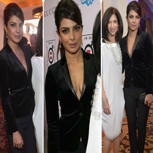 Priyanka Chopra Flashes Her Cleavage , priyanka chopra,  priyanka chopra cleavage,  hot priyanka chopra,  sexy priyanka chopra,  bollywood,  bollywood news,  bollywood masala,  bollywood gossip,  ifairer