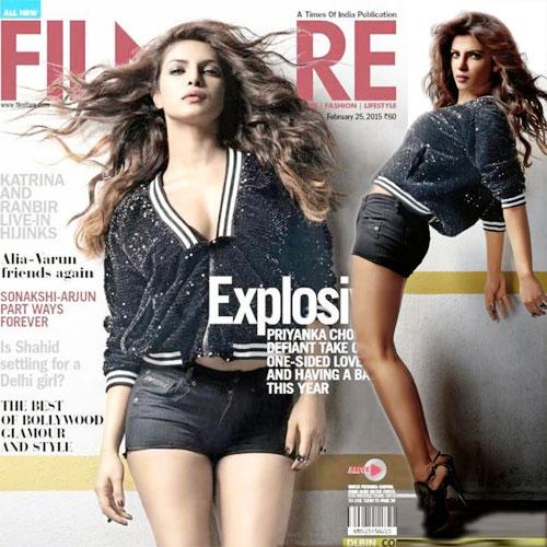 Priyanka Chopra's Hot shoot, priyanka chopra hot shoot,  priyanka chopra rocks the filmfare cover,  priyanka chopra,  bollywood gossip,  bollywood news,  bollywood latest updates,  ifairer