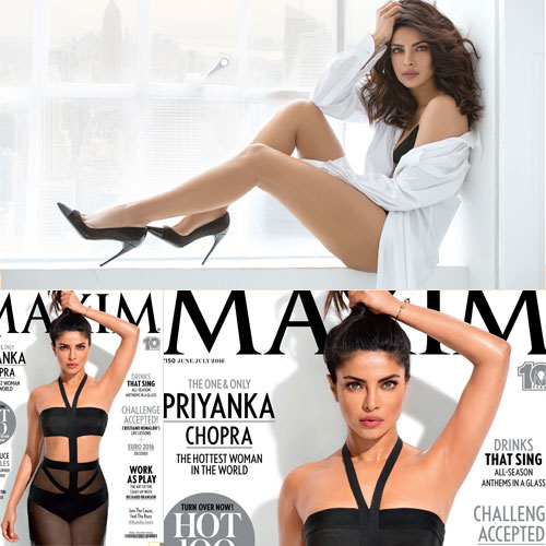Priyanka Chopra's ravishing look on Maxim India