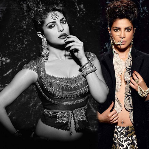 Priyanka Chopra sizzle on magazine cover with modernity and ethnicity