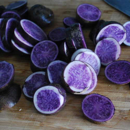 Purple potatoes prevent colon cancer , purple potatoes prevent colon cancer,  including purple potatoes in your daily diet can help prevent cancer,  health care,  ways to reduce colon cancer,  health care,  ifairer