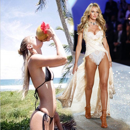 Quenching herself: Candice Swanepoel at Brazilian beach.., angel awfully thirsty,  victoria secrets,  victoria secrets angel,  angel,  candice swanepoel,  candice,  swanepoel,  brazilian beach,  hollywood models,  hot beach models,  hollywood