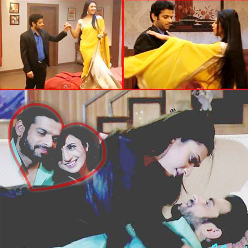 Raman and Ishita's Romantic dance..., raman and ishita romantic dance in bedroom,  raman and ishita gratifying retro roomance in yeh hai mohabbatein,  yeh hai mohabbatein upcoming episode news,  tv gossips,  tv serial latest updates,  tv serial news,  ifairer