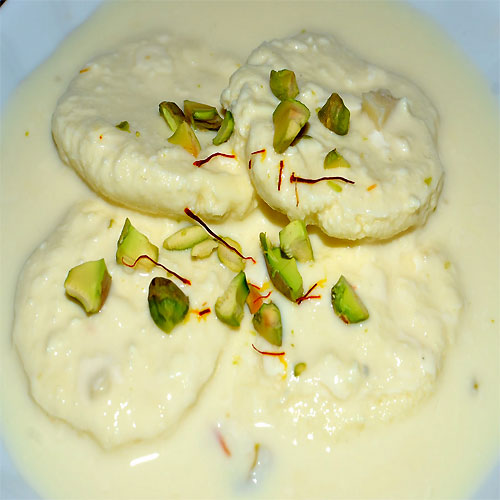 how to cook rasmalai at home