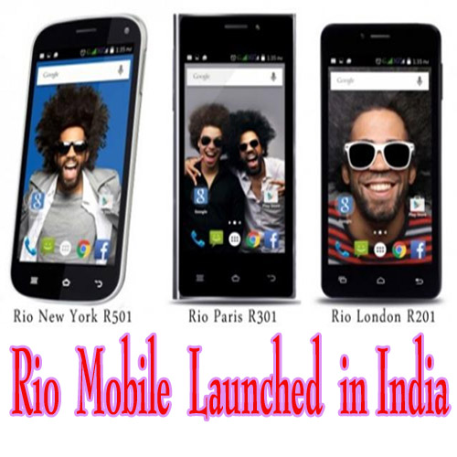 Rio mobiles launches smartphones