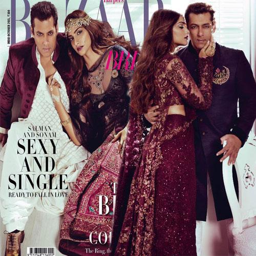 Salman-Sonam in stylish photoshoot, salman khan and sonam kapoor stylish photoshoot,  salman khan,  sonam kapoor,  fashion trends 2015,  fashion trends,  ifairer