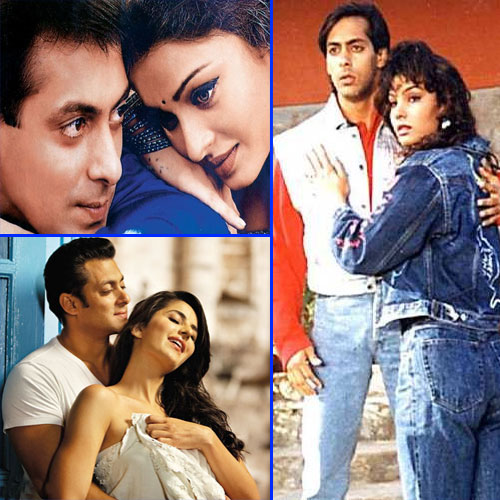 8 Most famous affairs of Salman Khan, salman khan,  girl friend list,  aishwarya rai,  sangeeta bijlani,  