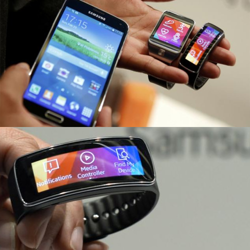 SAMSUNG launched s5 with super-smart watch, samsung,  samsung s5,  s5,  s5 with super watch,  professional camera,  a powerful fitness tracker,  water and dust proof ,  fingerprint sensor technology,  arch rival the iphone 5s,  iphone 5s,  gadget launch,  new launch,  gadget,  gadget news