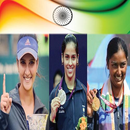 Sania Mirza and Saina Nehwal get PadmaBhushan; Deepika Kumari gets PadmaShri , sania mirza and saina nehwal get padmabhushan deepika kumari gets padmashri,  padmabhushan 2016,  padmashri 2016,  sania mirza wins padmabhushan,  saina nehwal wins padmabhushan,  deepika kumari awarded padmashri,  general articles,  ifairer