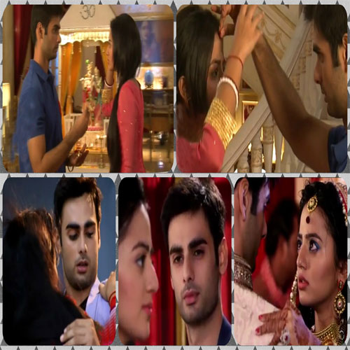 Sanskar puts sindoor on Swara's forehead, sanskar puts sindoor on swaras forehead,  swaragini upcoming episode news,  tv gossips,  tv serial news,  tv serial latest updates,  ifairer