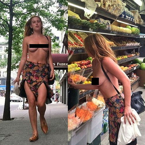 Scout goes topless to protest against Instagram, scout goes topless to protest against instagram,  hollywood news,  hollywood gossips,  latest news,  scout willis,  demi moore,  bruce willis,  instagram,  topless for protest against instagram
