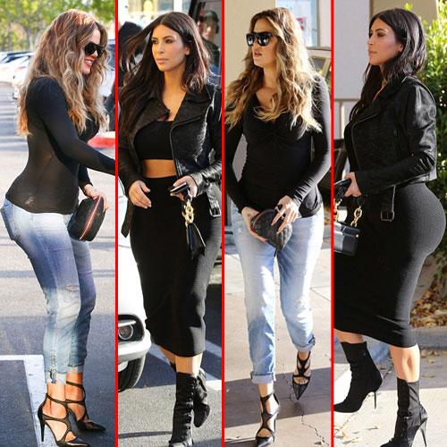 Sexy curvy assets of kardashian sisters, sexy curvy assets of kardashian sisters,  kim kardashian,  khloe kardashian,  hollywood news,  hollywoos gossips,  latest news,  ifairer
